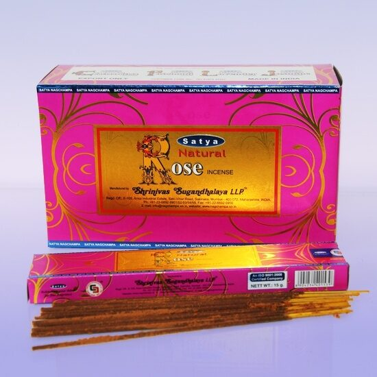 Natural ROSE 15gm Satya  уп-12шт
